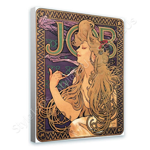 Alphonse Mucha Job | Canvas, Posters, Prints & Stickers - StyleIsUS.com
