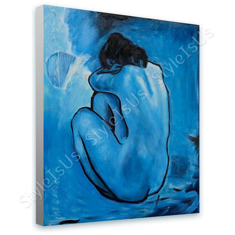 Pablo Picasso Blue Nude | Canvas, Posters, Prints & Stickers - StyleIsUS.com