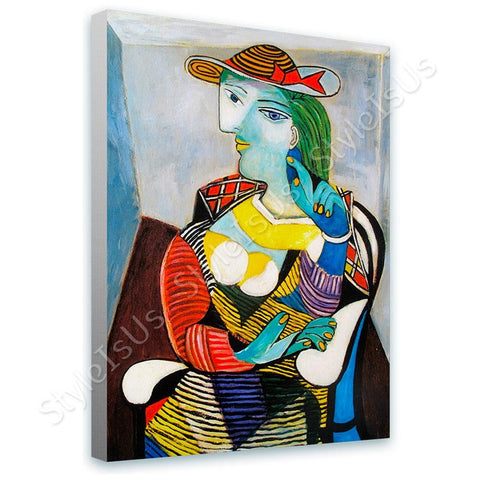 Pablo Picasso Marie Therese Walter | Canvas, Posters, Prints & Stickers - StyleIsUS.com