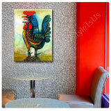 Pablo Picasso The Rooster | Canvas, Posters, Prints & Stickers - StyleIsUS.com