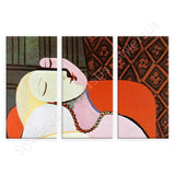 Pablo Picasso The Dream 3 Panels | Canvas, Posters, Prints & Stickers - StyleIsUS.com
