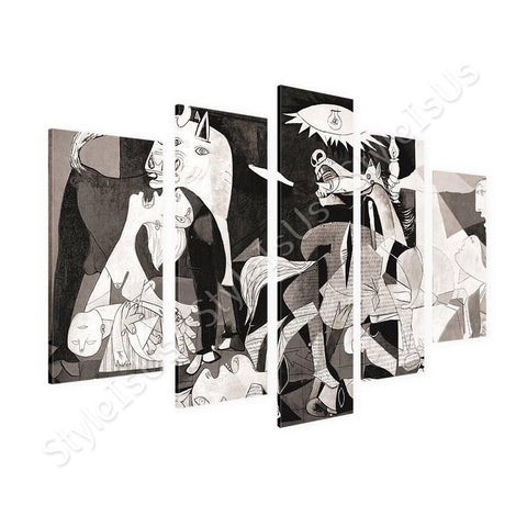 Pablo Picasso Guernica 5 Panels | Canvas, Posters, Prints & Stickers - StyleIsUS.com