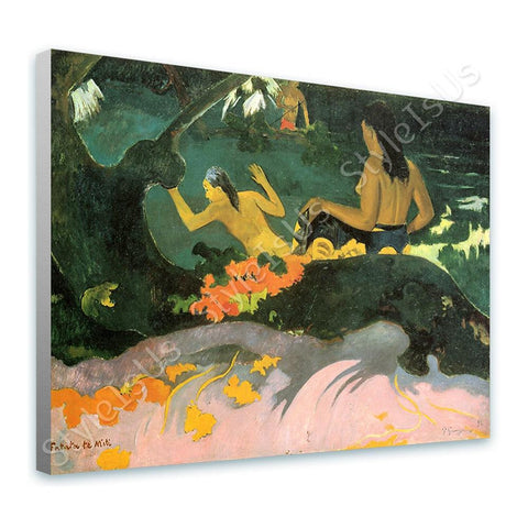 Paul Gauguin By the Sea | Canvas, Posters, Prints & Stickers - StyleIsUS.com