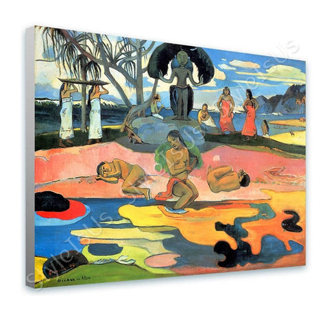 Paul Gauguin Day of the Gods | Canvas, Posters, Prints & Stickers - StyleIsUS.com