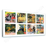 Paul Gauguin Collage 8 day nap two women land sea | Canvas, Posters, Prints & Stickers - StyleIsUS.com