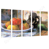 Paul Gauguin Still Life 5 Panels | Canvas, Posters, Prints & Stickers - StyleIsUS.com