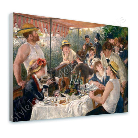 Auguste Renoir Luncheon of the Boating Party | Canvas, Posters, Prints & Stickers - StyleIsUS.com