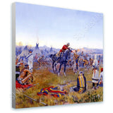 Frederic Remington Single Handed | Canvas, Posters, Prints & Stickers - StyleIsUS.com