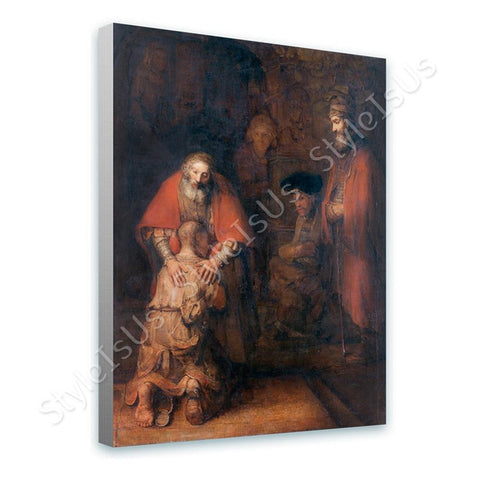 Rembrandt Prodigal Son | Canvas, Posters, Prints & Stickers - StyleIsUS.com