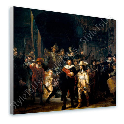 Rembrandt The Nightwatch | Canvas, Posters, Prints & Stickers - StyleIsUS.com