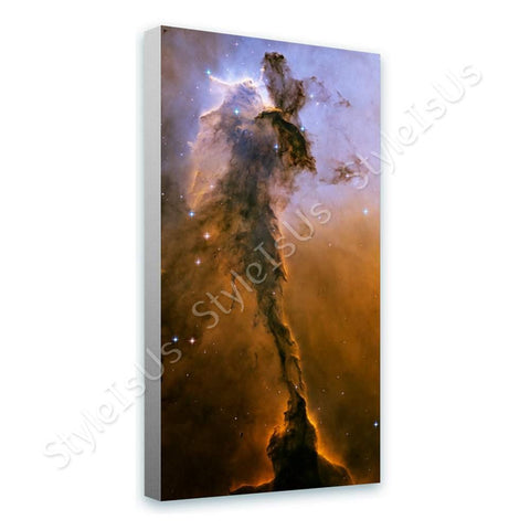 Space Galaxy Space Pillars of Creation nasa hubble stars | Canvas, Posters, Prints & Stickers - StyleIsUS.com
