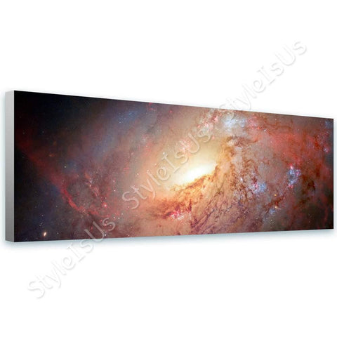 Space Galaxy Astronomy Hubble M 106 nasa | Canvas, Posters, Prints & Stickers - StyleIsUS.com