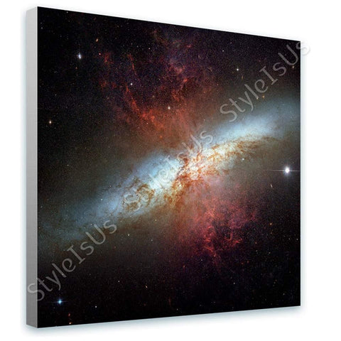 Space Galaxy Starburst hubble Messier 82 M82 astro | Canvas, Posters, Prints & Stickers - StyleIsUS.com