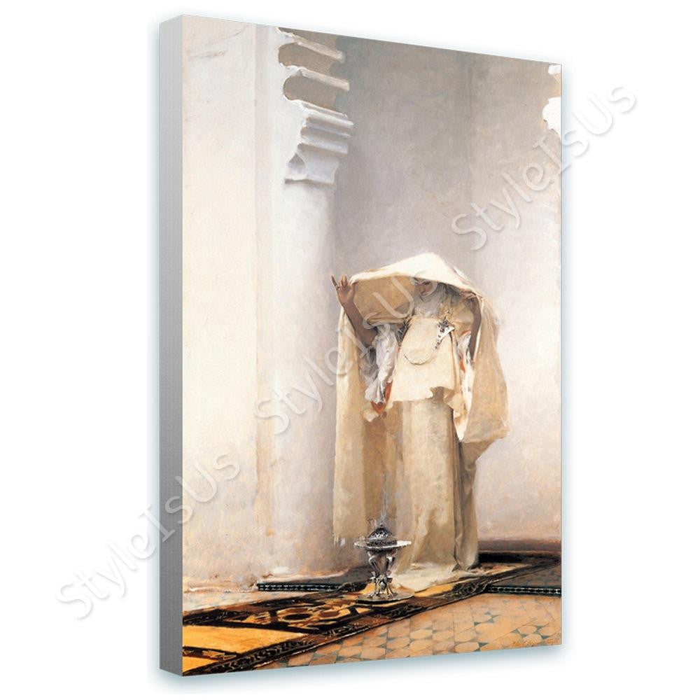 John Singer Sargent Smoke of Ambergris | Canvas, Posters, Prints & Stickers - StyleIsUS.com