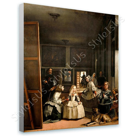 Diego Velazquez Las Meninas Maids of Honour | Canvas, Posters, Prints & Stickers - StyleIsUS.com