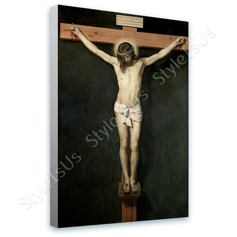 Diego Velazquez Christ on the Cross | Canvas, Posters, Prints & Stickers - StyleIsUS.com