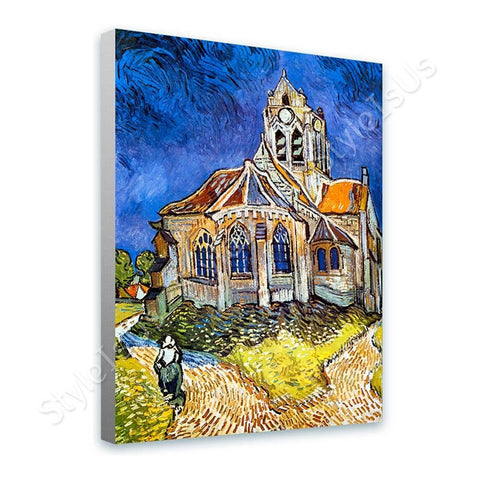 Vincent van Gogh Church at Auvers | Canvas, Posters, Prints & Stickers - StyleIsUS.com