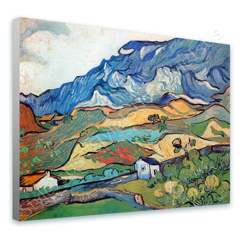 Vincent van Gogh Les Alpilles Alps | Canvas, Posters, Prints & Stickers - StyleIsUS.com
