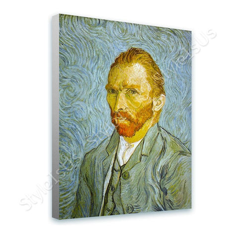 Vincent van Gogh Self Portrait | Canvas, Posters, Prints & Stickers - StyleIsUS.com