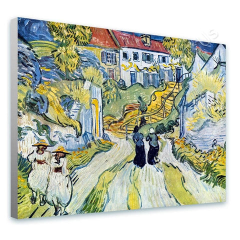 Vincent van Gogh Stairway at Auvers | Canvas, Posters, Prints & Stickers - StyleIsUS.com