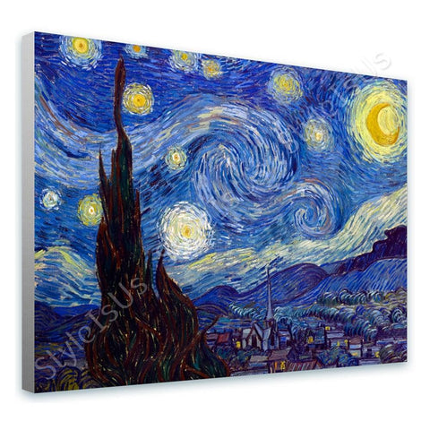 Vincent van Gogh Starry Night | Canvas, Posters, Prints & Stickers - StyleIsUS.com
