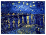 Vincent van Gogh Starry Night Over the Rhone | Canvas, Posters, Prints & Stickers - StyleIsUS.com
