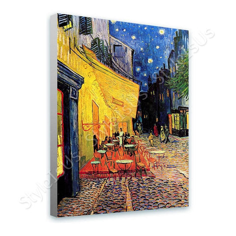 Vincent van Gogh Cafe Terrace | Canvas, Posters, Prints & Stickers - StyleIsUS.com