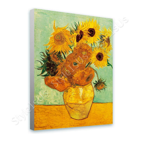 Vincent van Gogh Tournesols | Canvas, Posters, Prints & Stickers - StyleIsUS.com