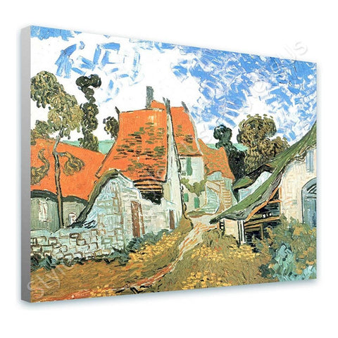 Vincent van Gogh Village Street in Auvers | Canvas, Posters, Prints & Stickers - StyleIsUS.com
