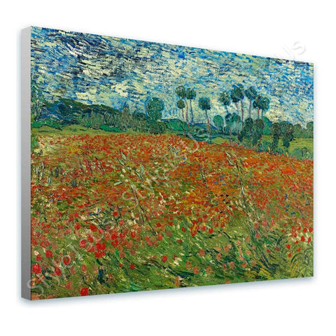 Vincent van Gogh Poppy field | Canvas, Posters, Prints & Stickers - StyleIsUS.com