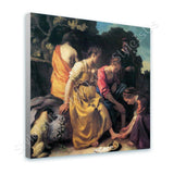Johannes Vermeer Diana and her Companions | Canvas, Posters, Prints & Stickers - StyleIsUS.com