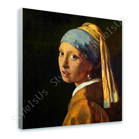Johannes Vermeer Girl Pearl Earring | Canvas, Posters, Prints & Stickers - StyleIsUS.com