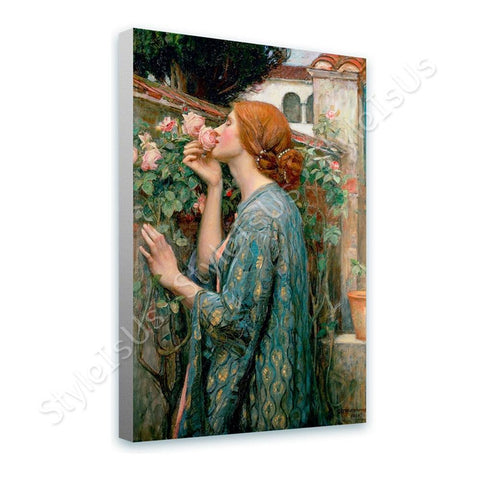 Waterhouse The Soul of the Rose | Canvas, Posters, Prints & Stickers - StyleIsUS.com