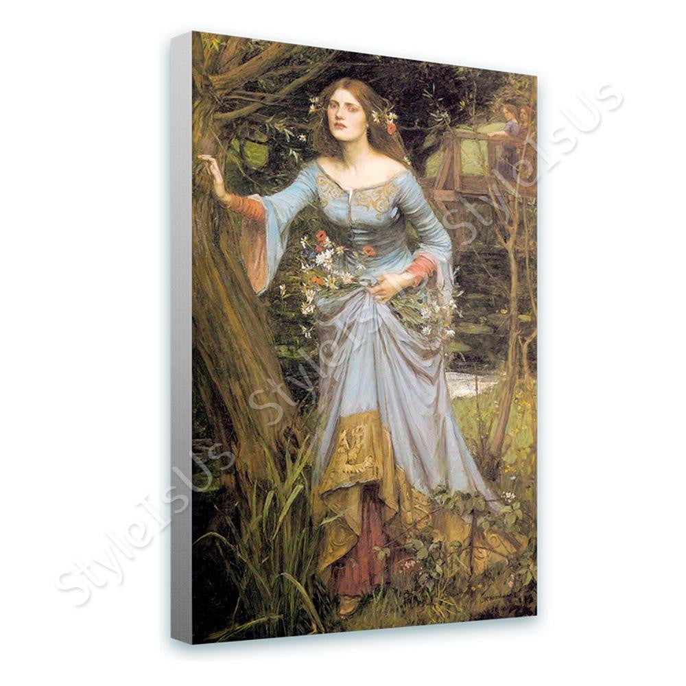 Waterhouse Ophelia | Canvas, Posters, Prints & Stickers - StyleIsUS.com