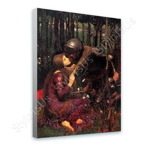 Waterhouse Beautiful Woman Without Mercy | Canvas, Posters, Prints & Stickers - StyleIsUS.com