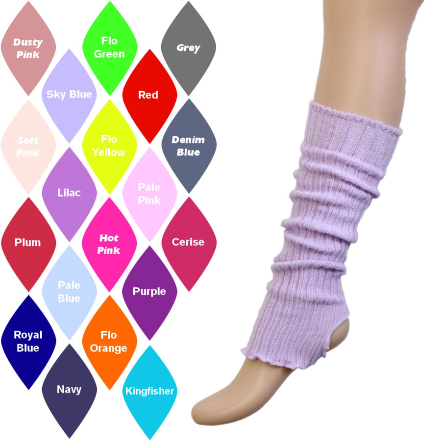 40cm STIRRUP LEGWARMERS Knitwear Dancers World