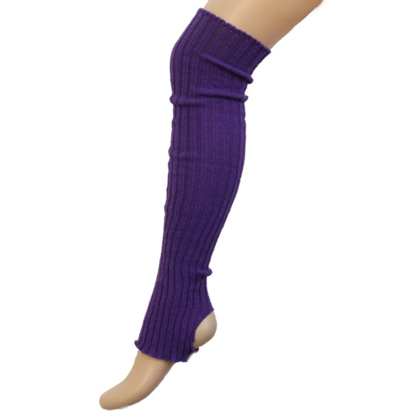 60cm STIRRUP LEGWARMERS Knitwear Dancers World