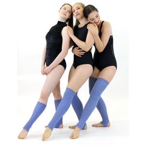 90cm STIRRUP LEGWARMERS Knitwear Dancers World