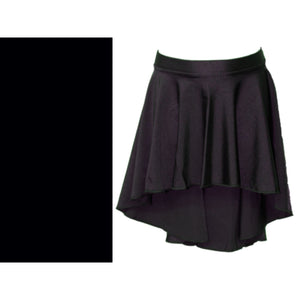 AMY - LONGER TAPERED SKIRT Dancewear Dancers World Black Small Child