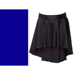AMY - LONGER TAPERED SKIRT Dancewear Dancers World Royal Blue Small Child