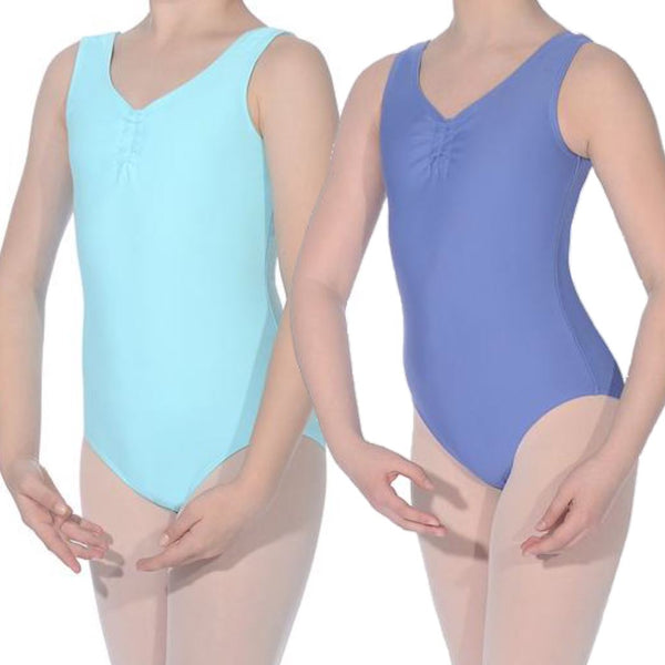 ANTONIA - ISTD STYLE LEOTARD WITH ADJUSTABLE RUCHE Dancewear Dancers World