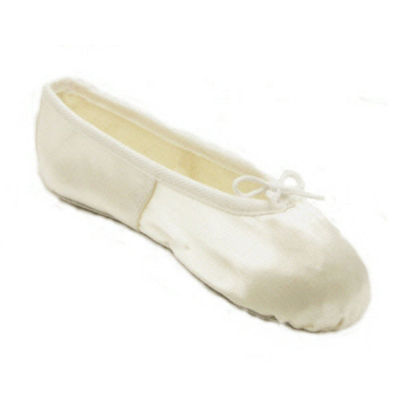 BASIC IVORY SATIN FULL SOLE BALLET SHOES Dance Shoes Dancers World