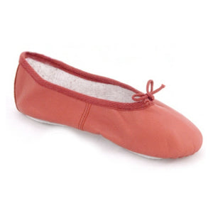 BASIC RED LEATHER BALLET SHOES Dance Shoes Dancers World