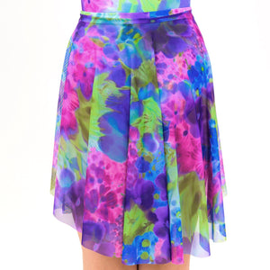 BOUQUET - LONGER TAPERED SKIRT Dancewear Click Dancewear