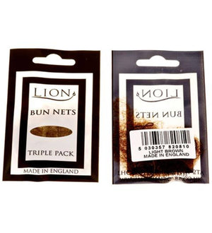 BUN NETS - PACK OF 3 Accessories Lion Light Brown