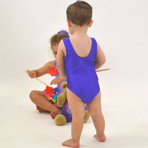 CHARLIE - BABY SIZES - SLEEVELESS PLAIN FRONT LEOTARD Dancewear Dancers World