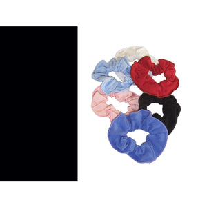 COTTON LYCRA SCRUNCHIES Accessories Dancers World Black