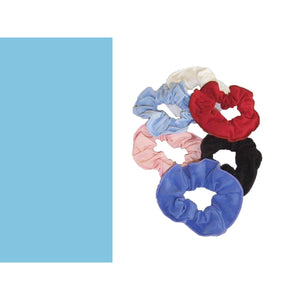 COTTON LYCRA SCRUNCHIES Accessories Dancers World Marine Blue
