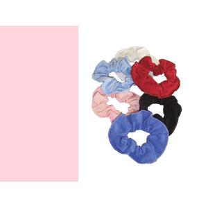 COTTON LYCRA SCRUNCHIES Accessories Dancers World Pale Pink