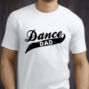 DANCE DAD T-SHIRT - PROFITS FOR NHS Unisex T-Shirt Click Dancewear